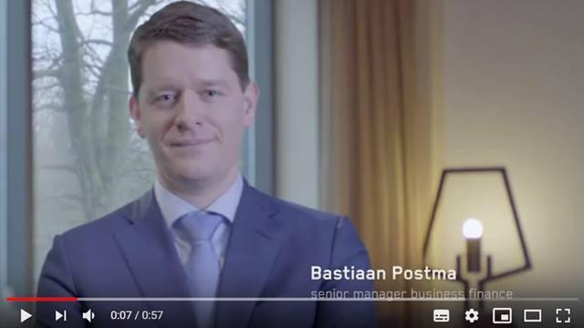 Cover Werken voor Achmea Finance - Bastiaan Postma, Senior Manager Business Finance