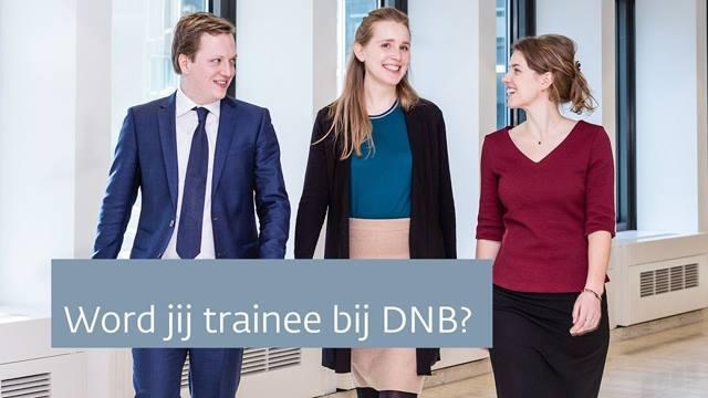 Cover Werken in het dynamische financieel-economische speelveld?  Een traineeship bij DNB zet je op scherp.