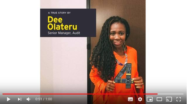 Cover Discover why a career in Audit at EY is about much more than numbers, watch Dee's journey!
