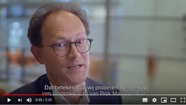 Cover Guus Schoorlemmer, Head of Risk Oversight bij NN Group over de missie van NN Risk: 'We keep the company safe'