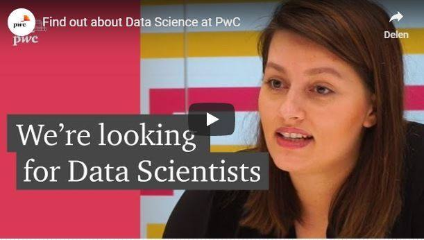 Cover Find out about Data Science at PwC