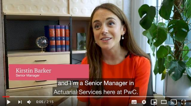 Cover Find out more about life on the Actuarial graduate programme