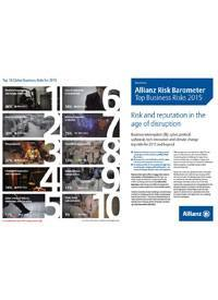 Cover Allianz Risk Barometer 2015