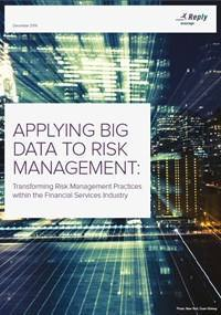 Cover Applying Big Data to Risk Management