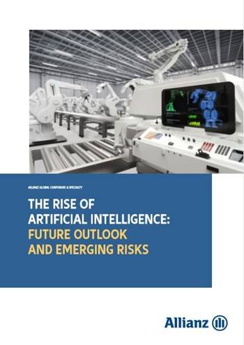 Cover The rise of artificial intelligence