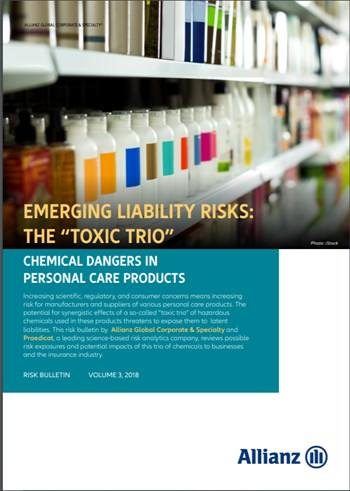 "Cover Emerging Liability Risks: The ""Toxic Trio"""