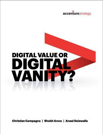 Cover Digital value or digital vanity?