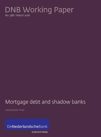 Cover Mortgage debt and shadow banks