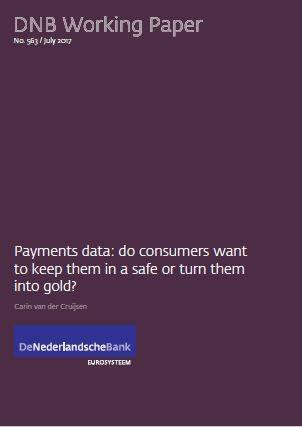 Cover Payments data: do consumers want to keep them in a safe or turn them into gold?
