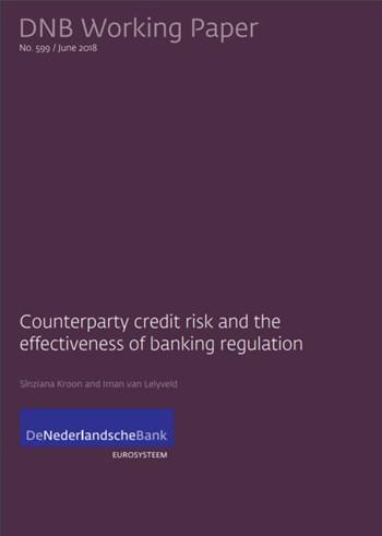 Cover 599 - Counterparty credit risk and the effectiveness of banking regulation