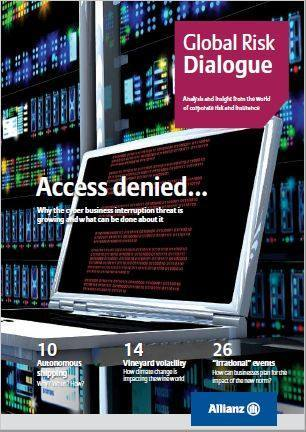 Cover Global Risk Dialogue