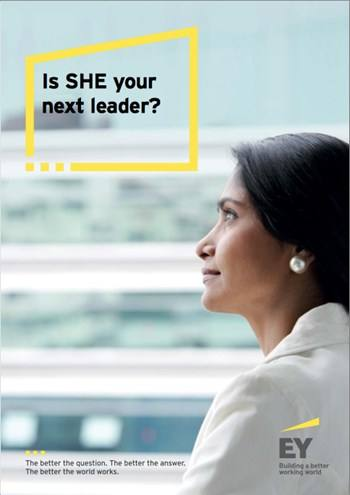 Cover Is SHE your next leader?