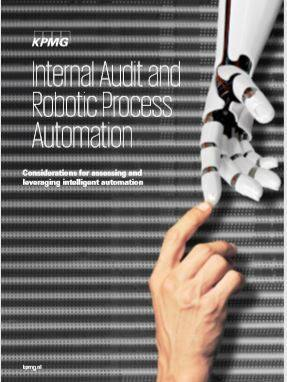 Cover Internal Audit and Robotic Process Automation