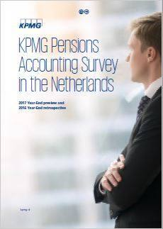Cover KPMG Pensions Accounting Survey in the Netherlands