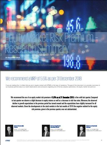 Cover Equity Market Risk Premium 2019