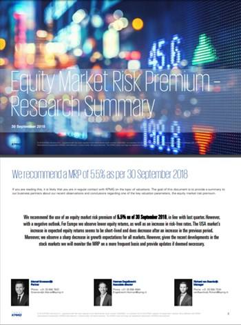 Cover Equity Market Risk Premium
