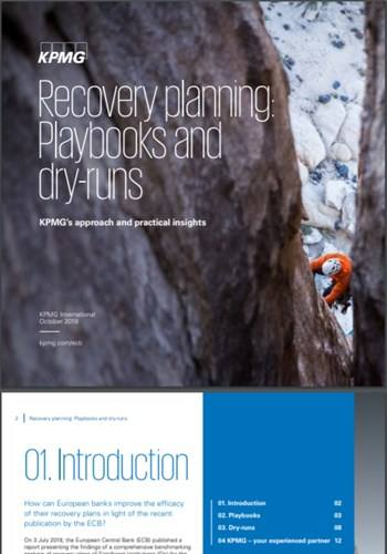 Cover Recovery planning: Playbooks and dry-runs