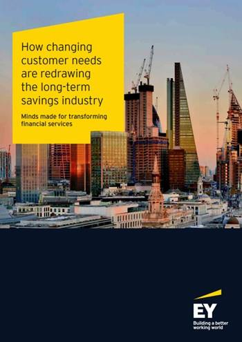 Cover How changing customer needs are redrawing the long-term savings industry