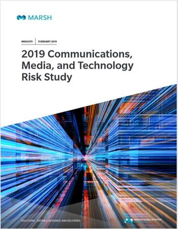 Cover 2019 Communications, Media and Technology Risk Study