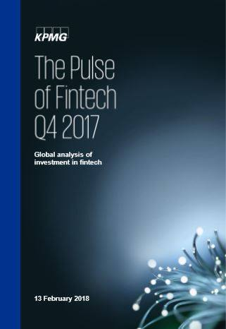 Cover The pulse of Fintech Q4 2017