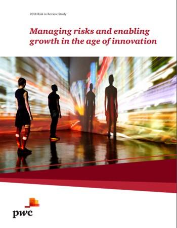 Cover Managing risks and enabling growth in the age of innovation