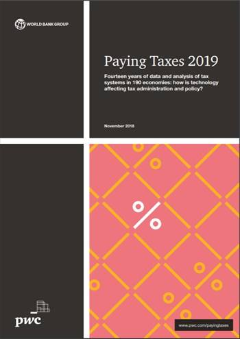 Cover Paying Taxes 2019