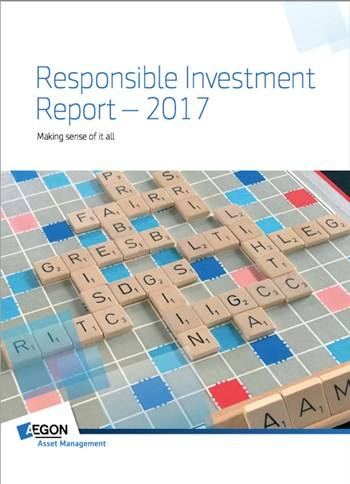 Cover Responsible investment report 2017