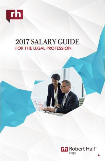 robert half legal salary guide pdf