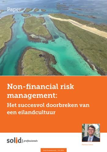 Cover Non-financial risk management
