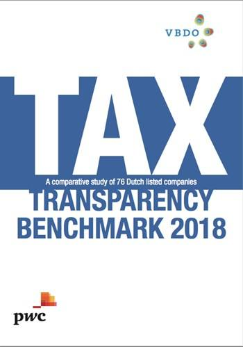 Cover TAX - Transparency benchmark 2018