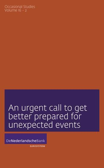 Cover An urgent call to get better prepared for unexpected events