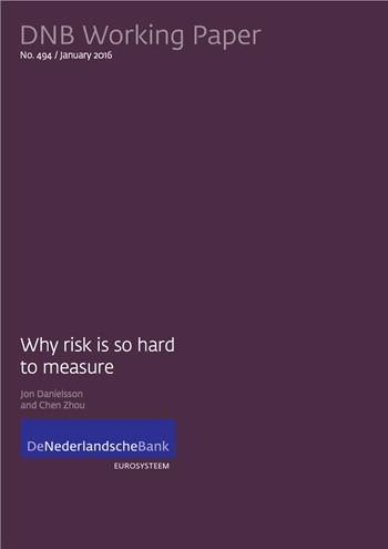 Cover Why risk is so hard to measure