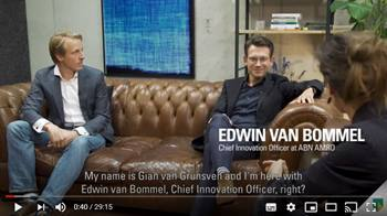 Video ABN AMRO - The Future of Data ownership and AI - Talk Edwin van Bommel