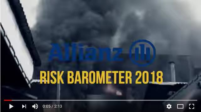 Cover What are the top risks for 2018?