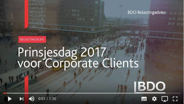 Cover Belastingplan 2018 voor corporate clients