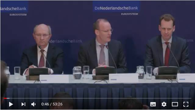 Video Persconferentie DNB Jaarverslag 2017