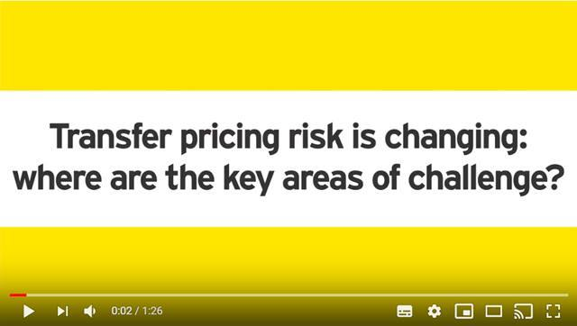Cover Transfer pricing risk is changing: where are the key areas of challenge?
