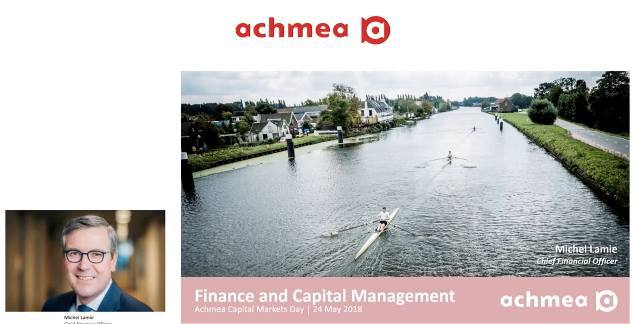 Cover Achmea Capital Markets Day 2018