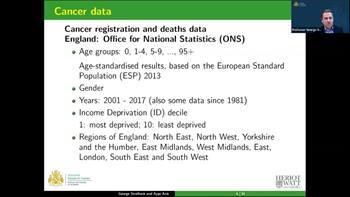 Video Modelling cancer risk: Regional and socioeconomic disparities