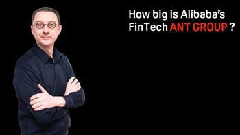 Video How big is ANT GROUP from Alibaba?