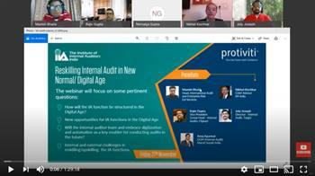 Video Webinar: Reskilling Internal Audit in New Normal / Digital Age