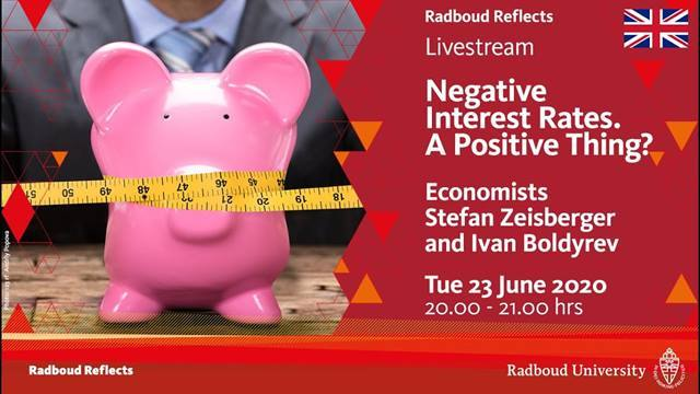 Video Negative Interest Rates: A Positive Thing?