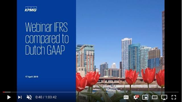 Cover Webinar IFRS Compared to Dutch GAAP