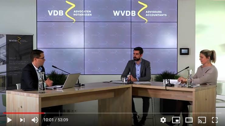 Video: WVDB webinar - ondernemen in crisistijd